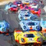 """Historic Race Cars"" by ArtbySachse"