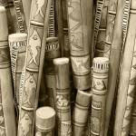 """Hand Painted Rain Sticks"" by rhamm"