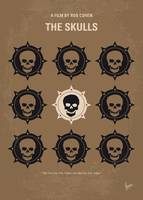 No662 My The Skulls minimal movie poster