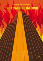 No665 My The Towering Inferno minimal movie poster