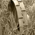 """Abandoned Steel Farm Implement Wheel"" by rhamm"