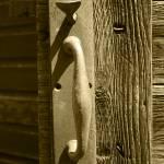 """2015-03-16 Sepia Rusted Door Handle"" by rhamm"
