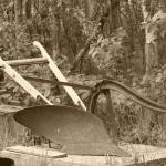 """""""2015-03-17 Sepia Antique one share plow"""" by rhamm"""