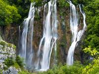 Plitvice Big Waterfall