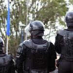 """Riot Police in Full Gear"" by rhamm"