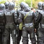"""Riot Police in Cotacachi"" by rhamm"