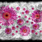 """22a Abstract Floral Painting Digital Expressionism"" by Ricardos"