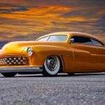 """1950 Mercury Custom V"" by FatKatPhotography"