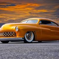 1950 Mercury Custom V Art Prints & Posters by Dave Koontz