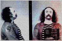 David Crosby Mug Shot Horizontal Painting
