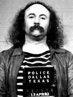 David Crosby Mug Shot Vertical Photo