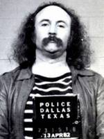 David Crosby Mug Shot Vertical Painting Black And