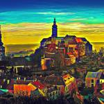 """city-1"" by DigitalPixel"