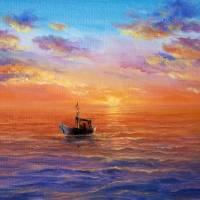 Fishing boat Art Prints & Posters by Boyan Dimitrov