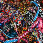 """2016-06-25 Colorful Woven Friendship Bracelets"" by rhamm"