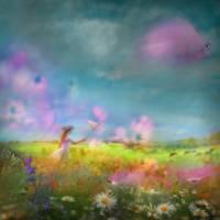 Butterfly Hunting Art Prints & Posters by Igor Zenin