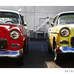 """Two 1955 Chevrolets"" by Automotography"