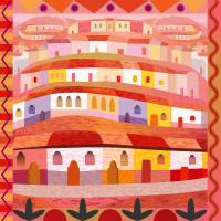 Little Sonora (Square) Art Prints & Posters by Charles Harker