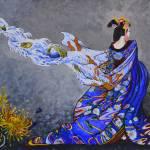 """""""painted-kimono"""" by AliceMC"""