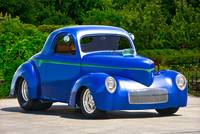 1941 Willys Coupe 'Blu and Blown'