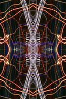 ABSTRACT LIGHT STREAKS #238