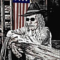 Cowboy Patriot Art Prints & Posters by Dave Gafford
