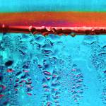"""Condensation Abstract Aqua"" by KsWorldArt"