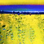 """Condensation Abstract Yellow"" by KsWorldArt"