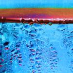 """Condensation Abstract Blue"" by KsWorldArt"