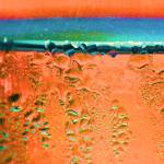 """Condensation Abstract Orange"" by KsWorldArt"