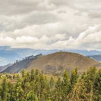 Ecuadorian Landscape at Chimborazo Province Art Prints & Posters by Daniel Ferreira-Leites