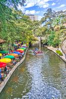Along the River Walk in San Antonio