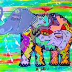 """Enigma Elephante"" by Adka"