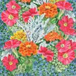 """""""Bright And Beautiful Flower Bed"""" by IrinaSztukowski"""