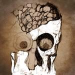 """""""UNDERPRESSUED SKULHEAD"""" by jasedam"""