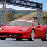 """F458 Ferrari at Sonoma Raceway"" by FatKatPhotography"