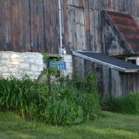 Silo and Barn Shadows Art Prints & Posters by Grace Matson