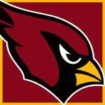"""cardinals-logo"" by RubinoFineArt"