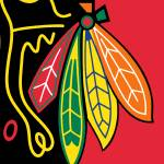 """chicagohawks-logo"" by RubinoFineArt"