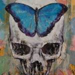 """Butterfly Skull"" by creese"