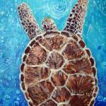 """sea turtle pearls of love"" by ArtSamadhi"