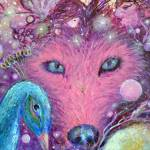 """Animal Chakra Totem six WOLF 2016 FA"" by ArtSamadhi"