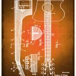 """guitarG"" by RubinoFineArt"
