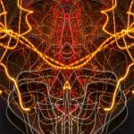 """ABSTRACT LIGHT STREAKS #246"" by nawfalnur"