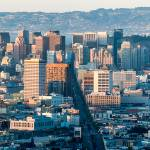 """""""San Francisco from Twin Peaks (color)"""" by dawilson"""