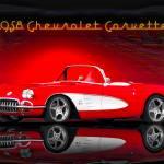 """""""1958 Corvette Roadster"""