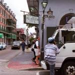 """New Orleans Bourbon Street 2004"" by Ffooter"