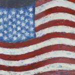 """Abstract American Flag"" by waynecantrell"