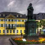 """Central Post Office and Beethoven Memorial in Bonn"" by TomGomez"