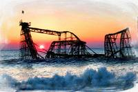 Roller Coaster After Sandy